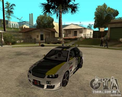Audi S3 Monster Energy para GTA San Andreas