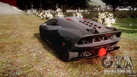 Lamborghini Sesto Elemento 2011 para GTA 4 vista lateral