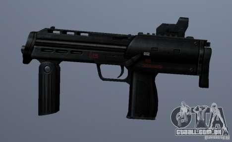 MP7 para GTA San Andreas terceira tela