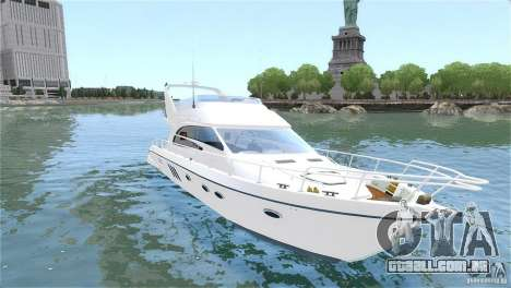 Luxury Yacht para GTA 4