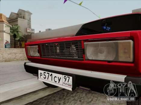 VAZ 21054 para GTA San Andreas vista direita