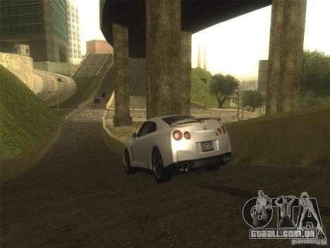 ENB v1 by Tinrion para GTA San Andreas por diante tela