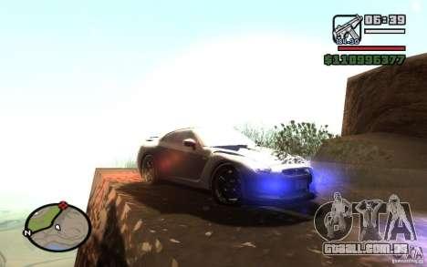 ENBSeries By Gasilovo para GTA San Andreas por diante tela