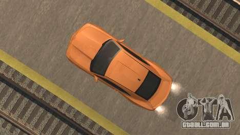 Chevrolet Camaro SS 2010 v2.0 Final para GTA San Andreas vista traseira