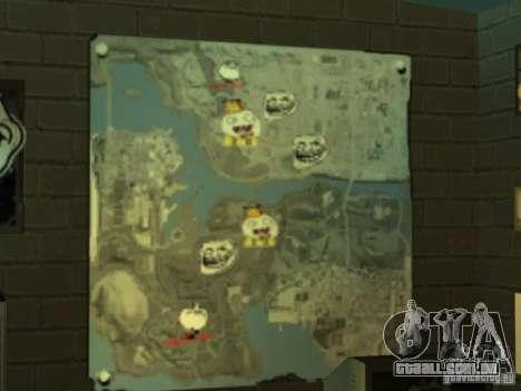 Bar de merda Sim para GTA San Andreas quinto tela