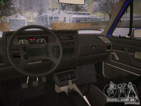 Volkswagen Rabbit GTI para GTA San Andreas traseira esquerda vista