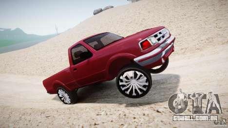 Ford Ranger para GTA 4 vista inferior
