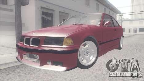 BMW e36 M3 Compact para GTA San Andreas