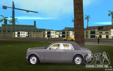 Rolls Royce Phantom para GTA Vice City deixou vista