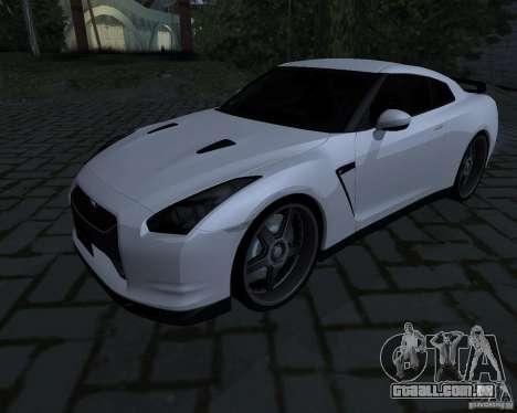 Nissan GTR-35 Spec-V para GTA San Andreas