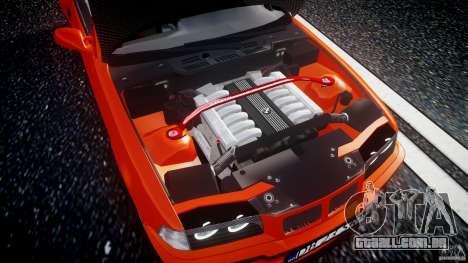 BMW E36 Alpina B8 para GTA 4 vista de volta