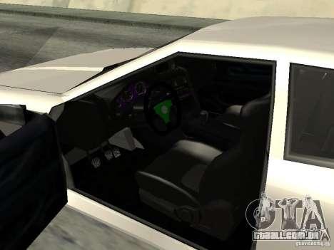 Elegy 29-13 para GTA San Andreas vista traseira