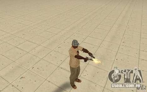 Diferentes estilos de pistola 9 mm para GTA San Andreas