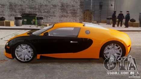 Bugatti Veyron 16.4 para GTA 4 traseira esquerda vista