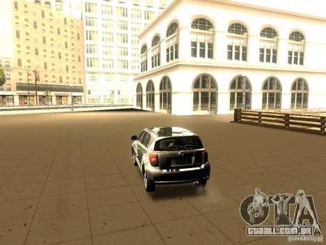 Scion xD para GTA San Andreas esquerda vista