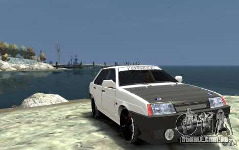 VAZ 21099 para GTA 4 vista de volta