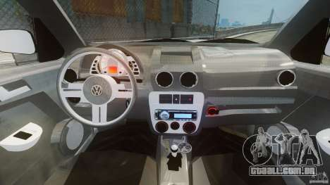 Volkswagen Gol G4 Rallye para GTA 4 vista direita