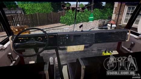 KAMAZ 5410 para GTA 4 vista superior