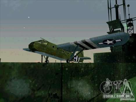 2 Linhas de aeronaves do jogo por trás do inimig para GTA San Andreas