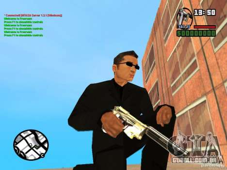 Gun Pack by MrWexler666 para GTA San Andreas oitavo tela
