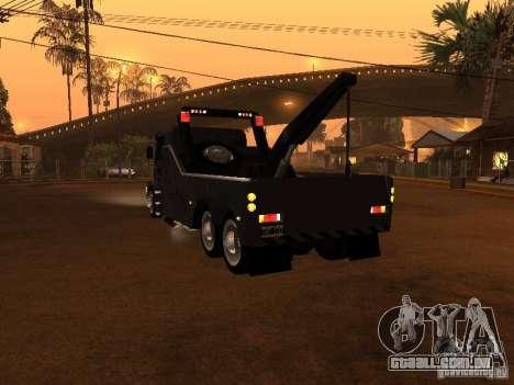Scania 112H Gruas Fenix para GTA San Andreas traseira esquerda vista