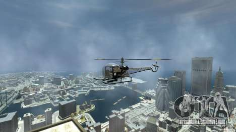 Sparrow Hilator para GTA 4 vista direita