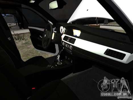 BMW M5 para GTA 4 interior