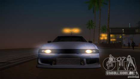 Elegy Drift para GTA San Andreas vista superior