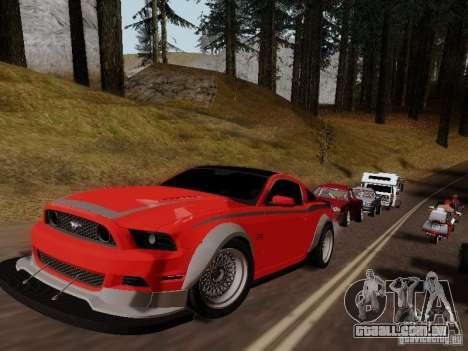 Ford Mustang RTR Spec 3 para GTA San Andreas