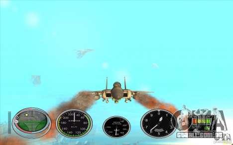 Rápido lançamento de foguete a Hydra e Hunter para GTA San Andreas segunda tela