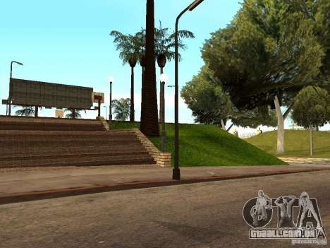 A nova quadra de basquete em Los Santos para GTA San Andreas sexta tela