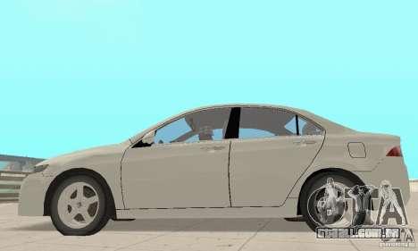 Honda Accord Comfort 2003 para GTA San Andreas vista direita