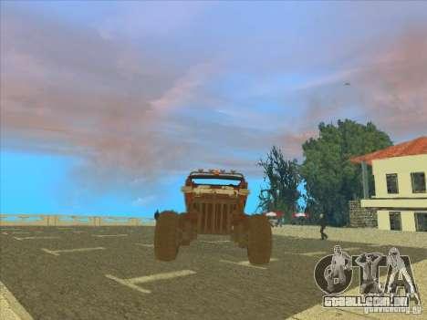 Wingy Dinghy v1.1 para GTA San Andreas esquerda vista