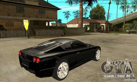 GTA IV SuperGT para GTA San Andreas vista direita