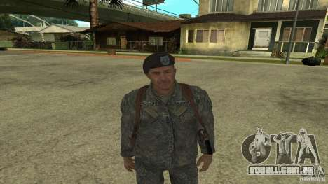 Shepard de CoD MW2 para GTA San Andreas