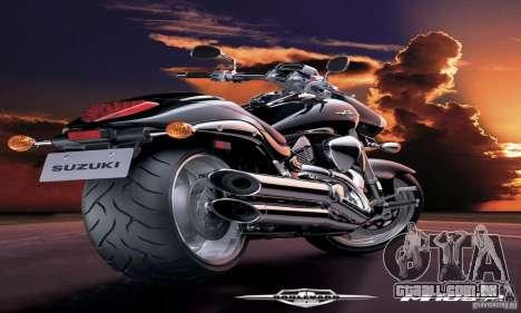 Telas de carregamento e menus no estilo de motoc para GTA San Andreas
