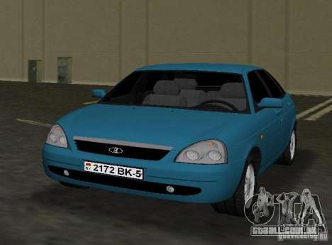 Lada Priora Hatchback para GTA Vice City