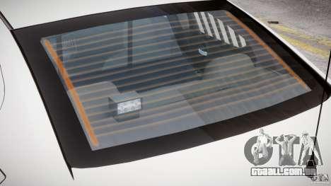 Dodge Charger FBI Police para GTA 4 rodas