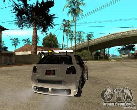 Audi S3 Monster Energy para GTA San Andreas
