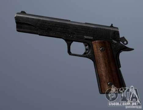 M1911 para GTA San Andreas terceira tela