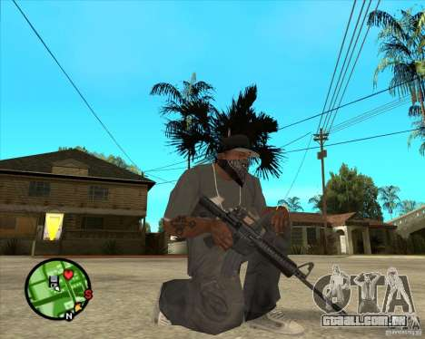 M4 Carbine para GTA San Andreas