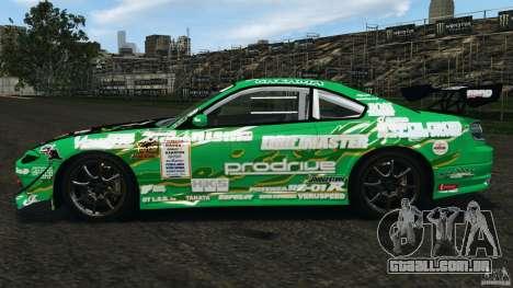 Nissan Silvia KeiOffice para GTA 4 esquerda vista