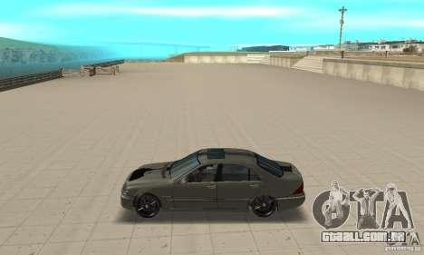 Mercedes Benz AMG S65 DUB para GTA San Andreas esquerda vista