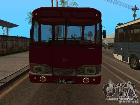 LIAZ 677 excursão para GTA San Andreas