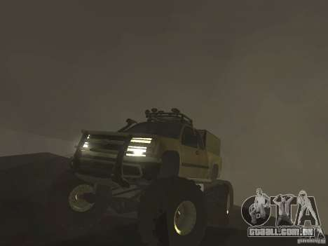 Chevrolet Colorado Monster para GTA San Andreas vista direita