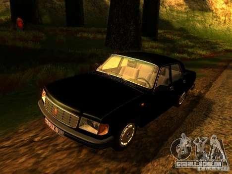 Volga GAZ 31029 para GTA San Andreas vista traseira