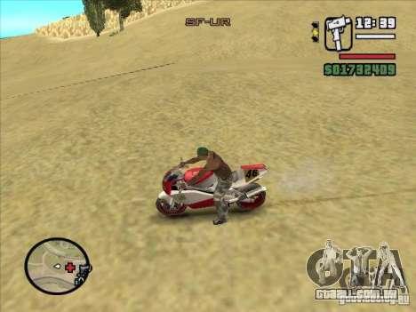 ZiT para GTA San Andreas segunda tela