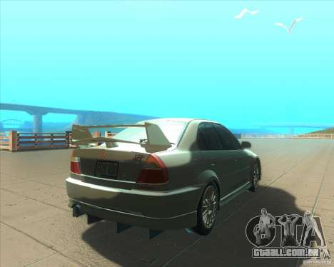 Mitsubishi Lancer Evolution VI 1999 Tunable para as rodas de GTA San Andreas