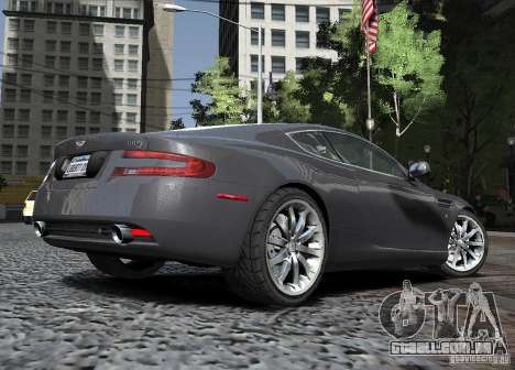 Aston Martin DB9 2008 v 1.0 para GTA 4 vista lateral