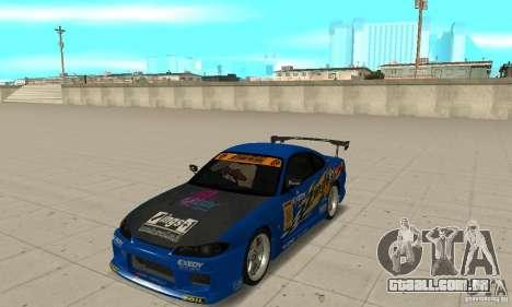 Nissan Silvia INGs +1 para GTA San Andreas